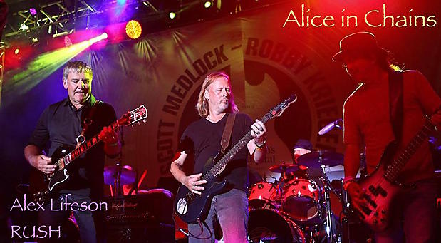 Alice in Chains & RUSH